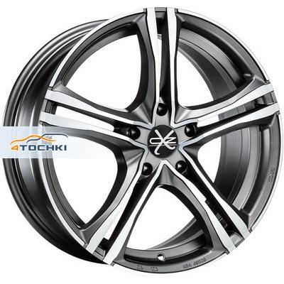 Диски OZ X5B Matt Graphite Diamond Cut 8x18/5x120 ЕТ45 D79