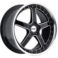 Carthage Gloss Black Mirror Lip Milled Spokes
