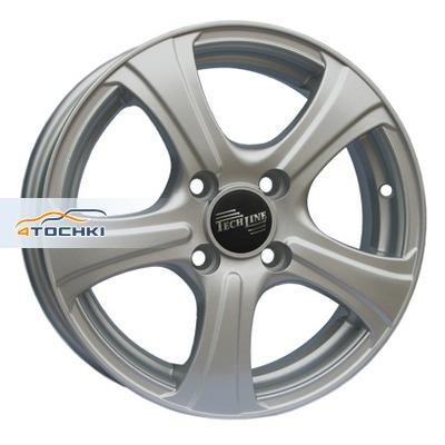 Диски Tech Line 405 Silver 5x14/4x114,3 ЕТ35 D66,1