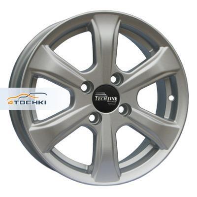 Диски Tech Line 408 Silver 5,5x14/4x100 ЕТ45 D56,1