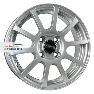 Диски Tech Line 415 Silver 5,5x14/4x100 ЕТ43 D60,1