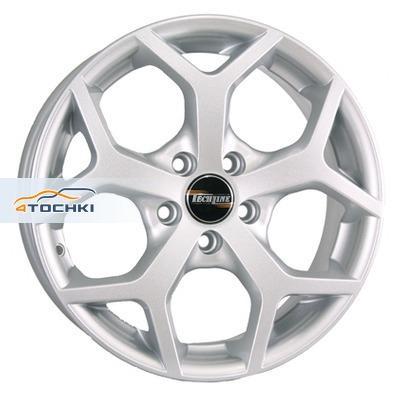 Диски Tech Line 511 Silver 6x15/5x108 ЕТ52,5 D63,4