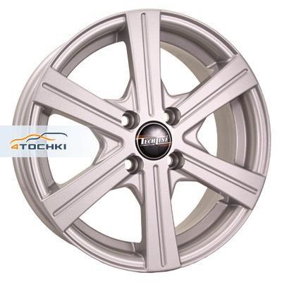 Диски Tech Line 544 Silver 6x15/4x100 ЕТ45 D60,1