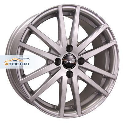 Диски Tech Line 605 Silver 7x16/5x114,3 ЕТ45 D67,1