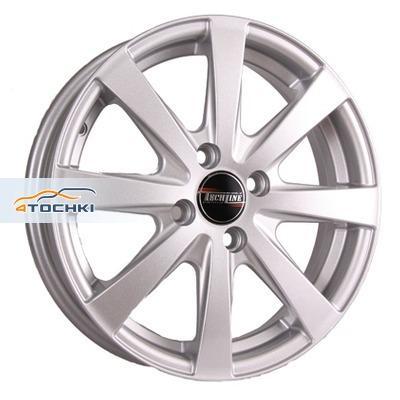 Диски Tech Line 634 Silver 6x16/4x100 ЕТ37 D60,1