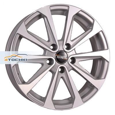 Диски Tech Line 712 Silver 6,5x17/5x114,3 ЕТ40 D66,1