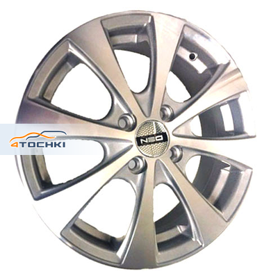 Диски Neo 546 Silver 6x15/4x100 ЕТ50 D60,1