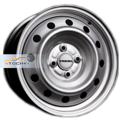 Диски Trebl 53C41G Silver 5,5x14/4x108 ЕТ41 D63,3