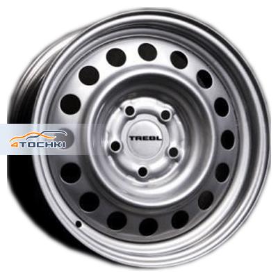 Диски Trebl 64G48L Silver 6x15/5x139,7 ЕТ48 D98,6