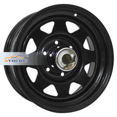Диски Trebl Off-road 01 Black 8x15/6x139,7 ЕТ-16 D108,7