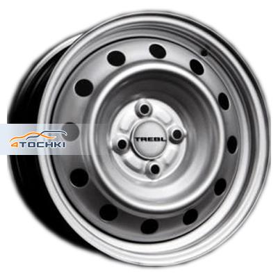 Диски Trebl X40038 Silver 5,5x15/4x100 ЕТ43 D60,1