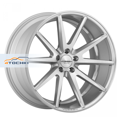 Диски Vossen VFS1 Silver/brushed face 12x21/5x130 ЕТ42 D71,6