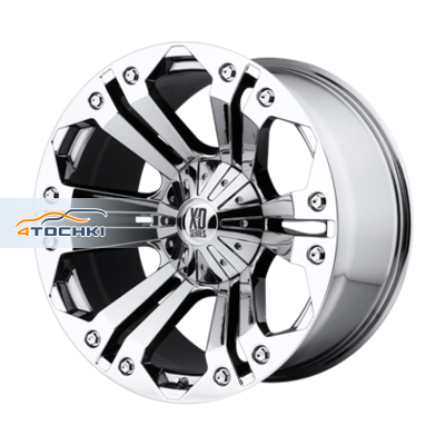 Диски XD Series XD778 Chrome 10x24/8x165,1 ЕТ25 D125