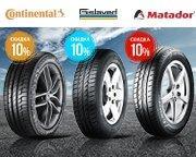 -10% на летние шины концерна Continental