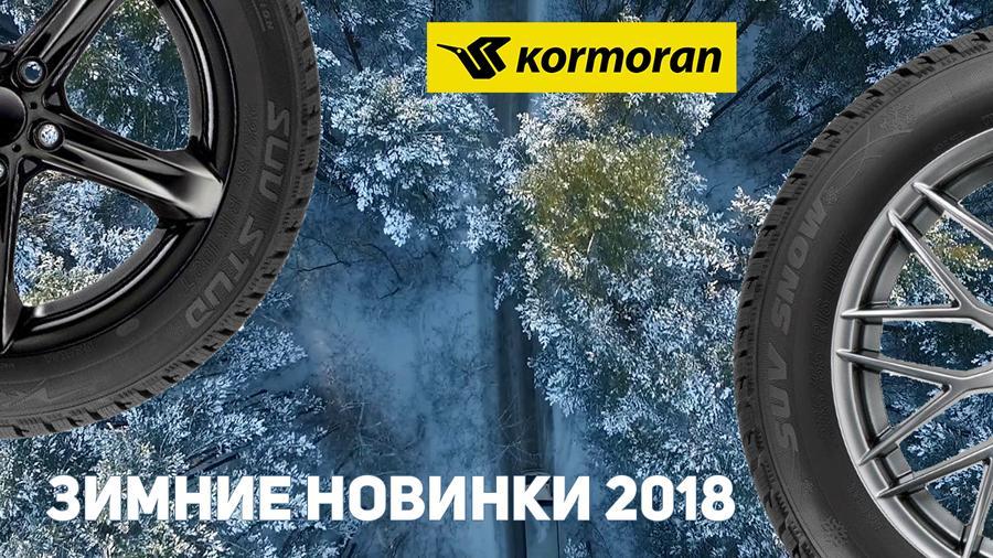 Зимние шины Kormoran – новинки 2018