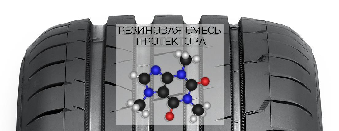 Резиновая смесь протектора
