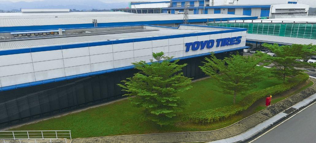 Как делают автомобильные шины на заводе Toyo Tires в Малайзии