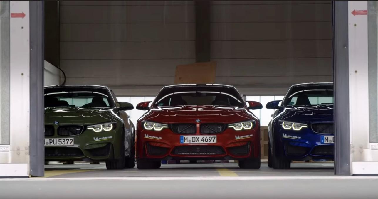 BMW объясняет важность сезонной замены шин