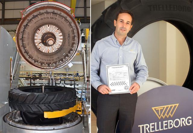 Trelleborg выпустила первую агрошину на новом заводе в Северной Америке