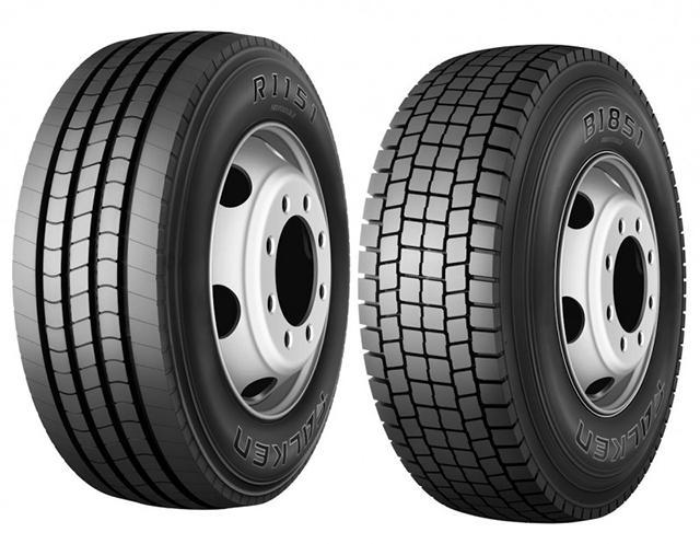 Falken Tyre Europe представила две новых коммерческих шины для региональных перевозок