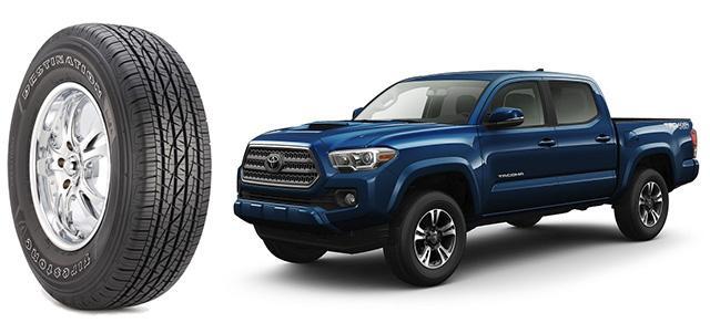 Всесезонки Firestone выбрали для оригинальной комплектации пикапов Toyota Tacoma 2016