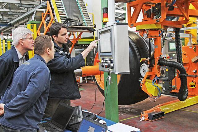 На ЗКГШ ОАО «Белшина» завершены работы по установке нового оборудования