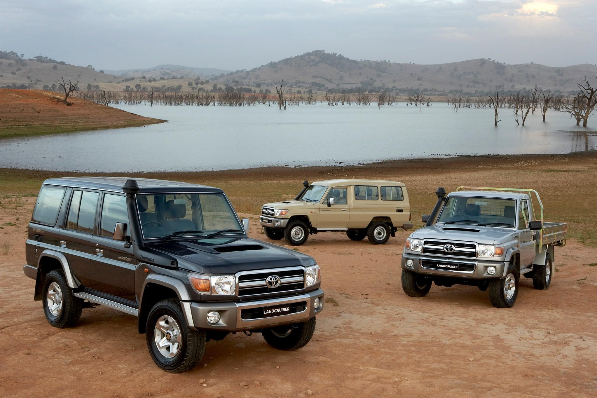 На российском рынке может появиться Toyota Land Cruiser 70