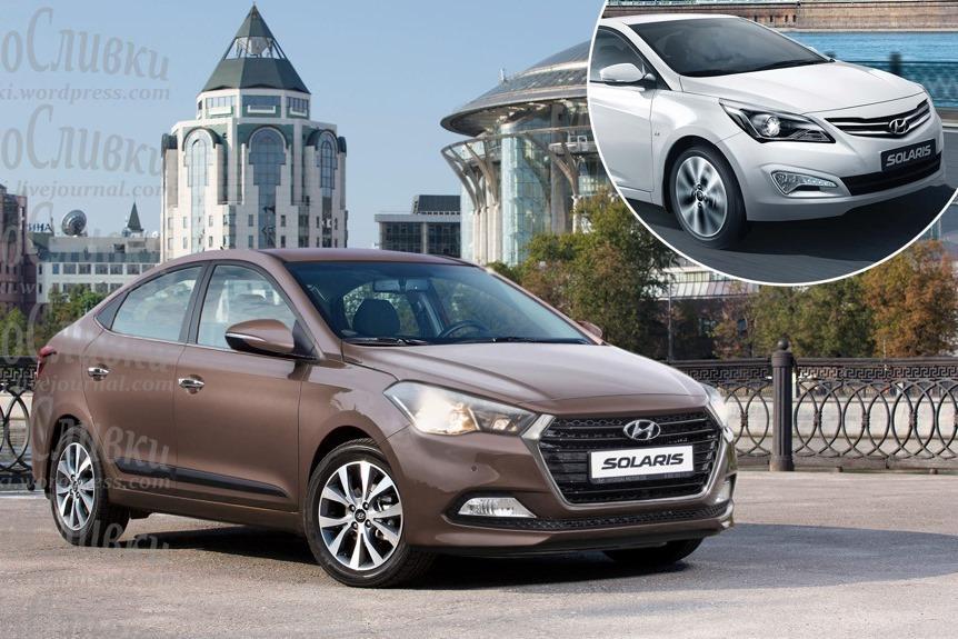 Новый Hyundai Solaris: он может выглядеть так