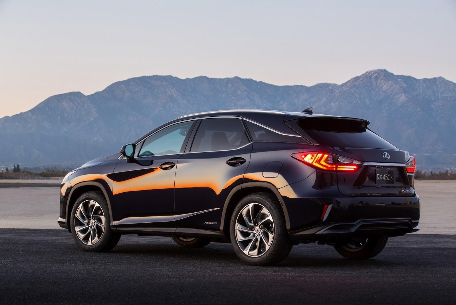 Lexus подтвердил подготовку удлиненной версии RX