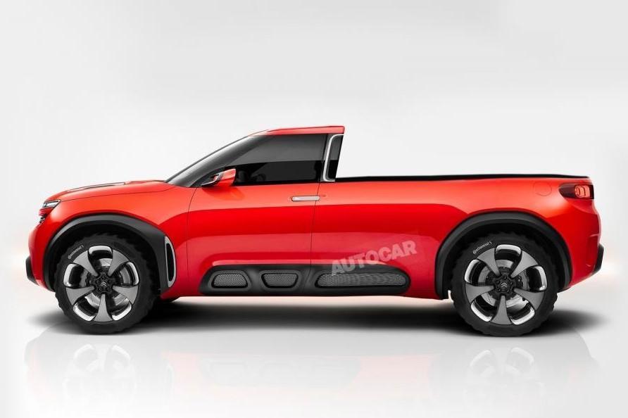 Под марками Peugeot и Citroen появится пикап