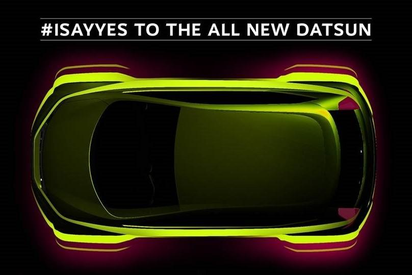 Datsun показал тизер кроссовера