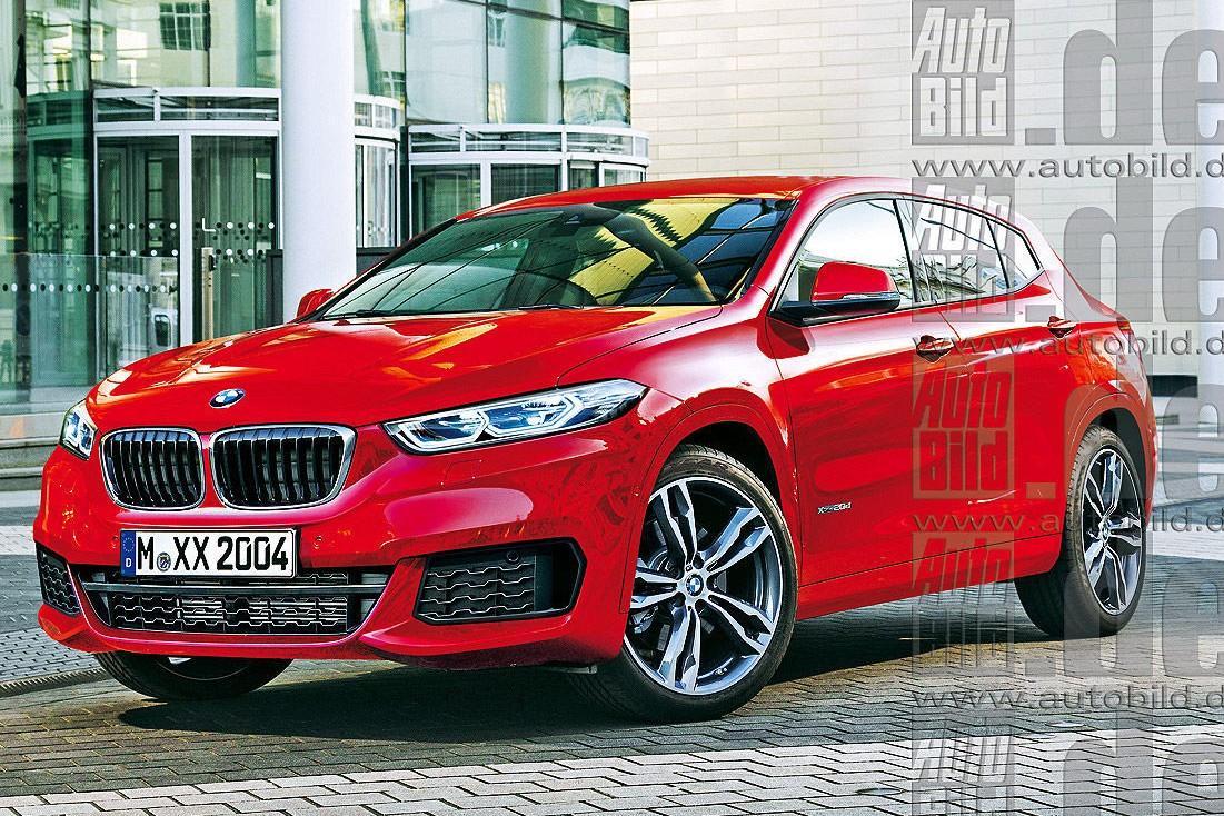BMW X2: новые рендеры и информация