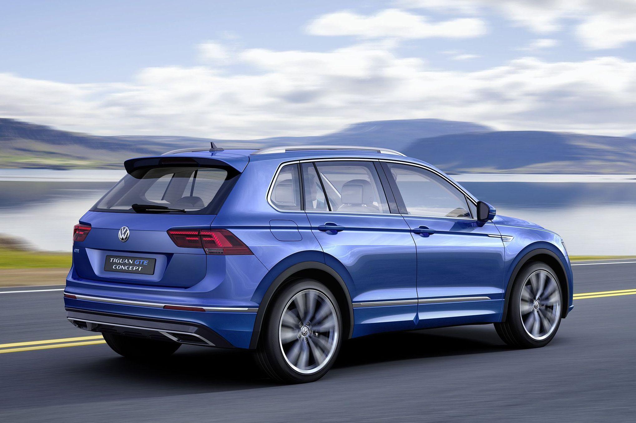 Новый Volkswagen Tiguan появится в России только в 2017 году