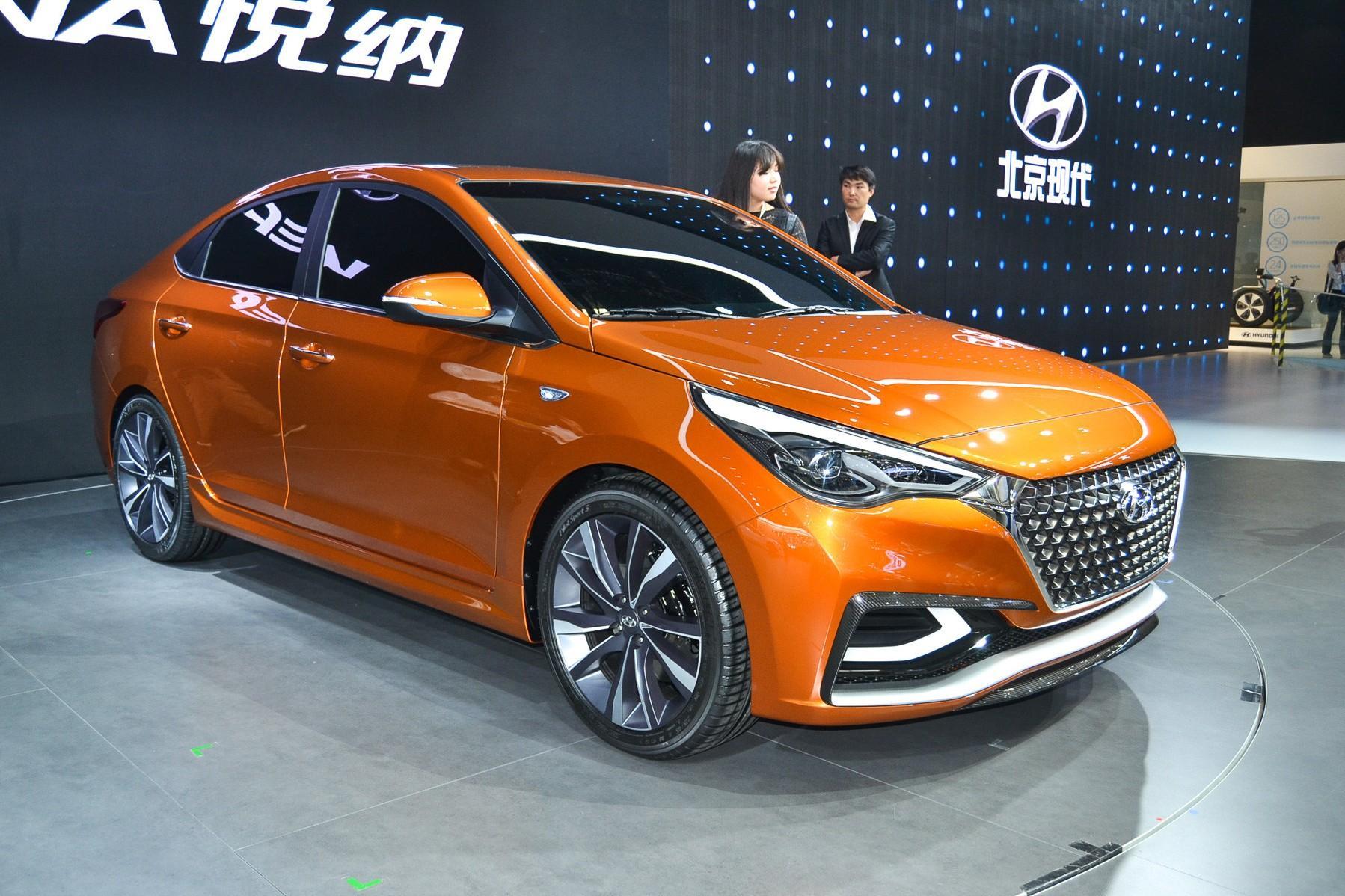Автосалон в Пекине 2016: раскрыта внешность нового Hyundai Solaris