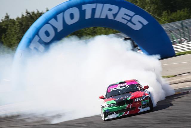 Toyo Tires продолжает сотрудничество с Российской Дрифт Серией