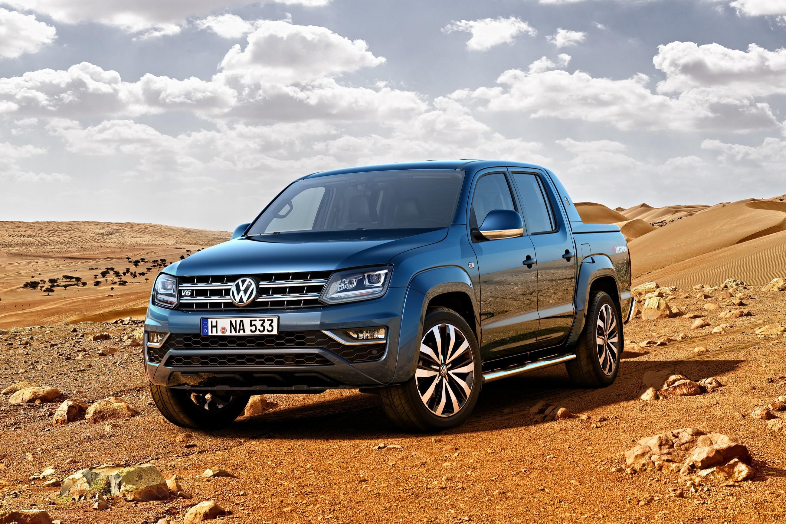 Пикап Volkswagen Amarok обзавелся мотором V6