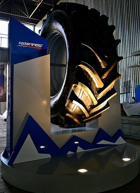 АШК подготовил для Эссенской выставки премьеру новой шины бренда NorTec