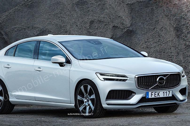 Третье поколение Volvo S60 появится в 2018 году