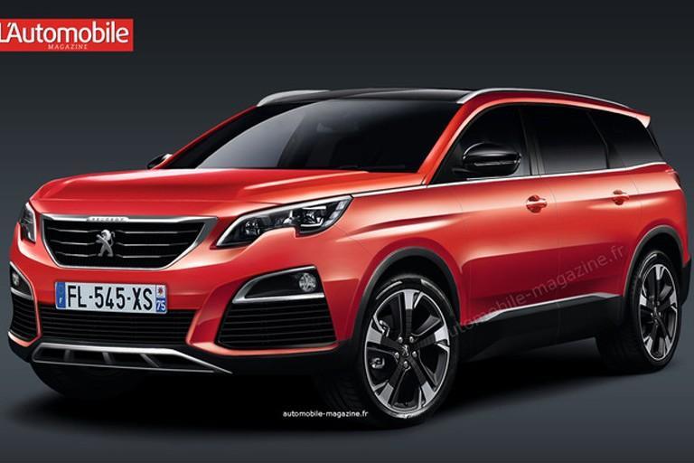 Peugeot 5008 превратится из минивэна в кроссовер