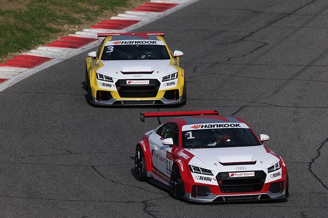Hankook останется поставщиком шин для моносерии Audi TT Sport Cup