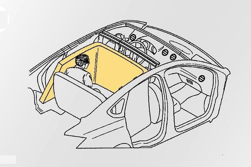 Ford запатентовал новую идею для подушек безопасности