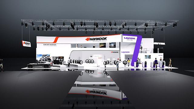 На Reifen Essen 2016 у Hankook будет два выставочных стенда