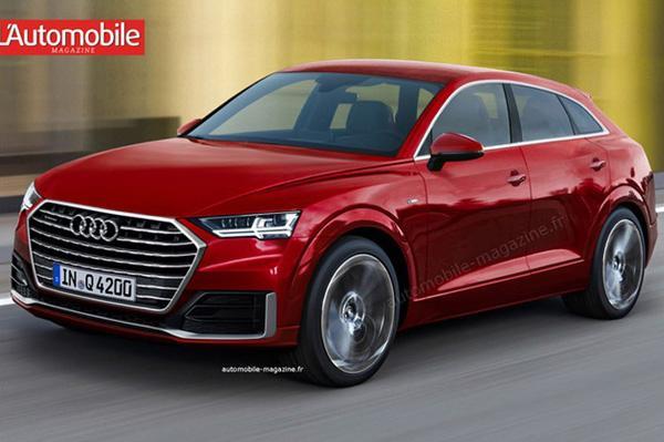 Audi выпустит купе-кроссовер Q4