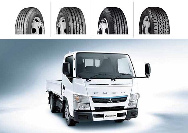 Bridgestone оснастит топливосберегающими шинами новые грузовички Mitsubishi Fuso Canter
