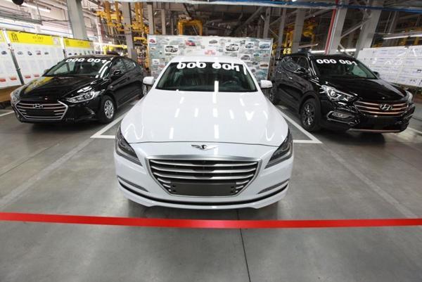 На «Автоторе» начали собирать три новые модели Hyundai