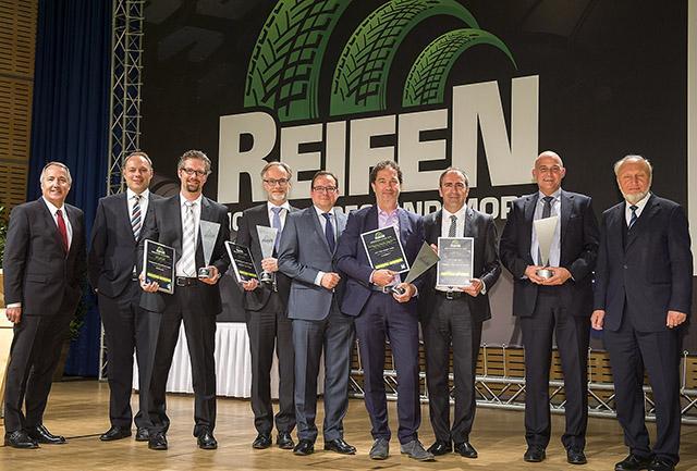 Bridgestone и Michelin получили премию Reifen Innovation Awards 2016