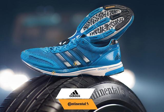 Continental и Adidas готовятся отметить 10-летний юбилей сотрудничества