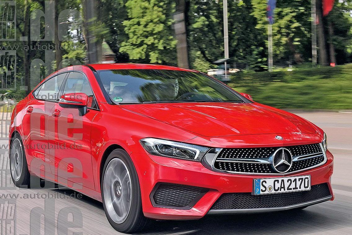 Новый Mercedes CLA: первая информация и рендеры