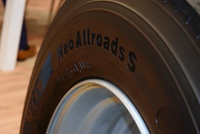 Aeolus Tyre представила в Эссене грузовые шины нового поколения