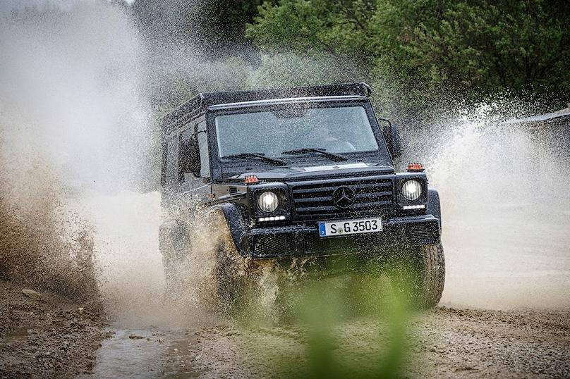 Mercedes вернул в линейку G-Class версию Professional